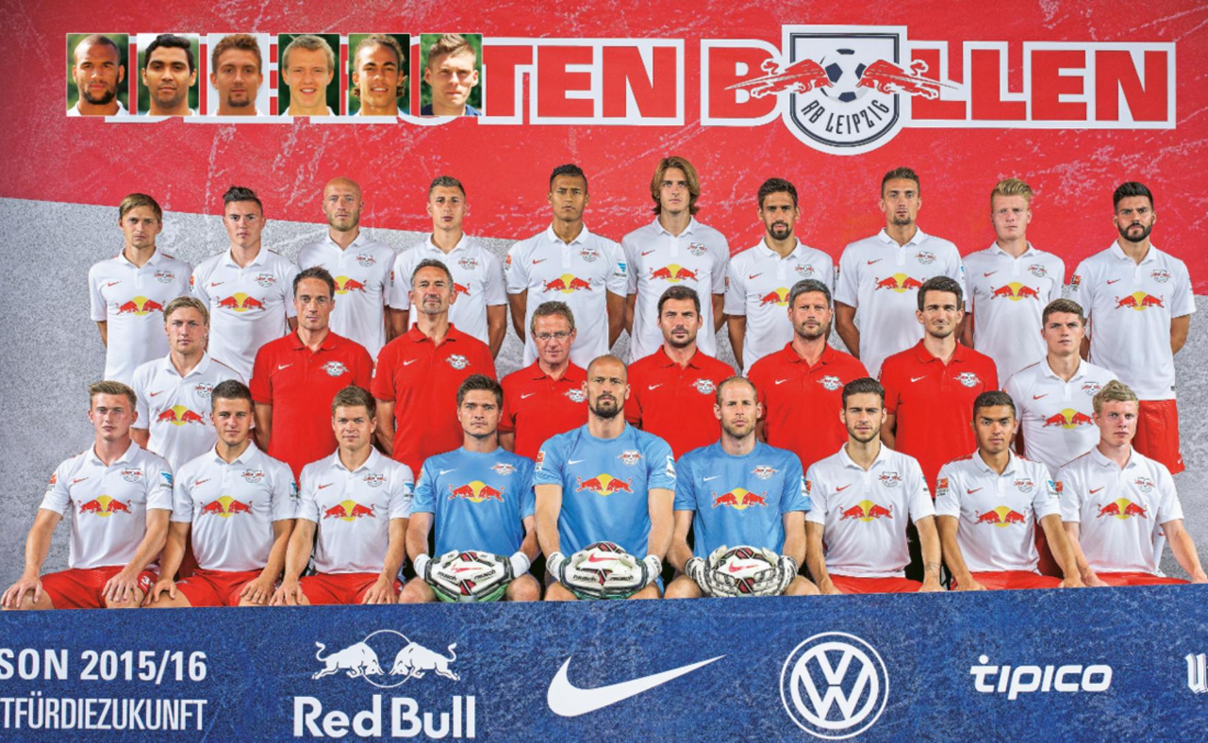 Mannschaftsinfo RasenBallsport Leipzig