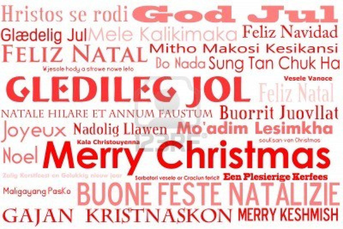Frohe Weihnachten In Vielen Sprachen.Frohe Weihnachten In Allen Sprachen Europas
